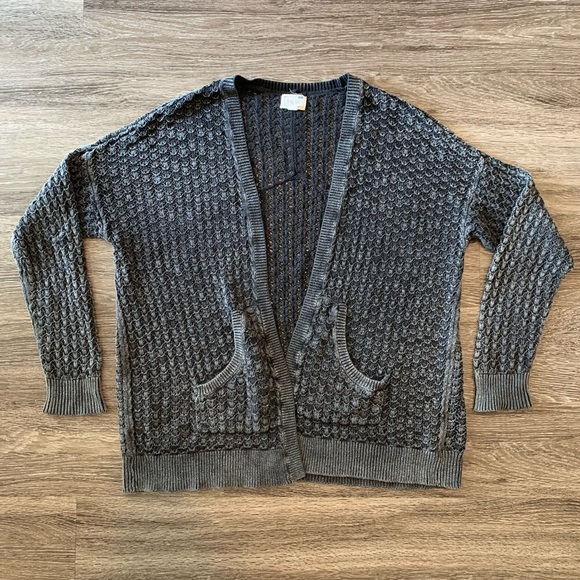 La Hearts Sweaters - L.A. Hearts Knitted Cardigan Sweater